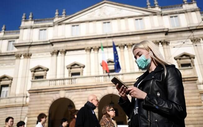 Itália vem tomando medidas para evitar propagação do coronavírus