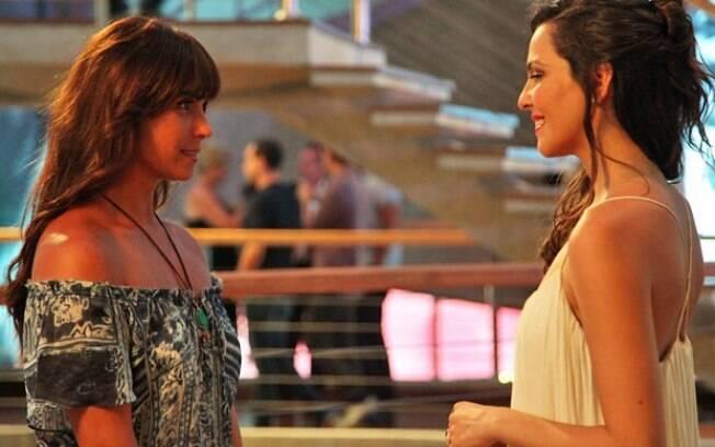 Marina elogiou a beleza de Clara