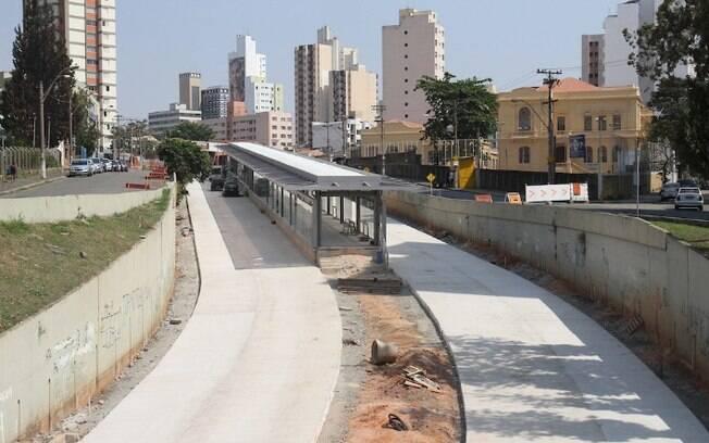 Obras do BRT em Campinas são prorrogadas em mais seis meses
