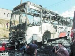 Em 2014, seis ônibus foram depredados na região metropolitana