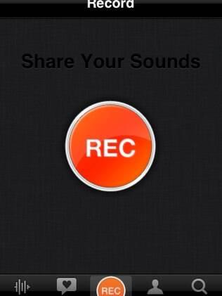Aplicativo do SoundCloud para iPhone só tem um botão para compartilhar sons