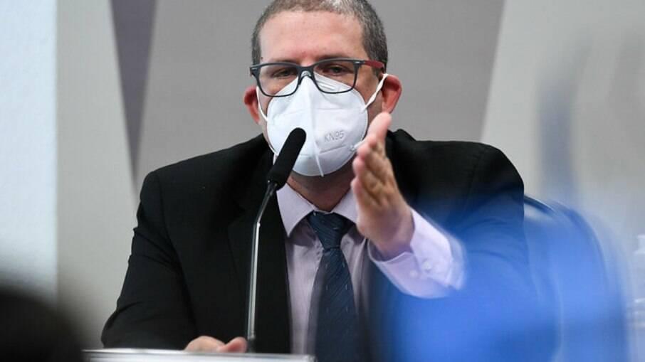Pedro Hallal na CPI da Covid