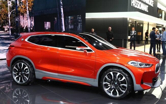 BMW X2 Concept apenas exibe uma idéia de como seria uma versão esportiva do X1