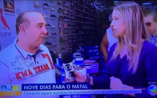 Cássia Carioca desmaia ao vivo