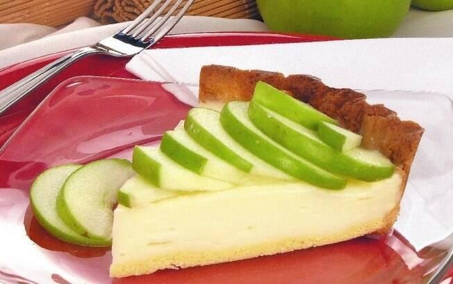 Sobremesas deliciosas com maçã verde para testar