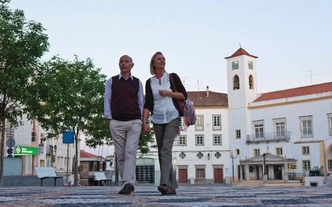 Praça de Elvas é excelente para uma caminhada