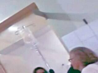 Cena foi filmada por uma das pacientes que aguardava atendimento