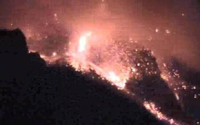 Erupções foram registradas por volta das 5h da manhã
