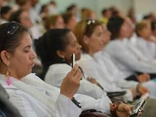 Médicos cubanos realizaram cursos em Belo Horizonte