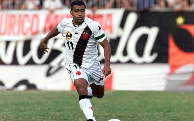 Romário atuou em três grandes do Rio de Janeiro, mas não jogou no futebol paulista