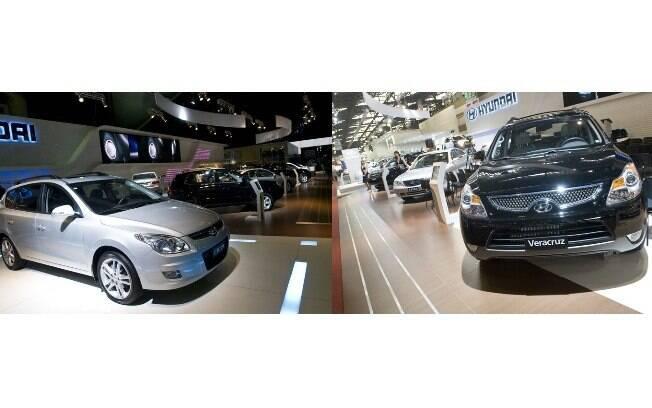 Hyundai neste Salão do Automóvel, com Azera, Veracruz, SantaFe, Tucson desbancando as vendas e o lançamento do i30