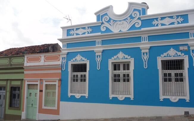 As cores de Olinda nos casarões do centro histórico
