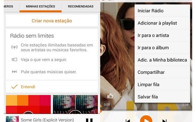 Serviço de streaming e de armazenamento de música, o Google Play Música custa R$ 14,90