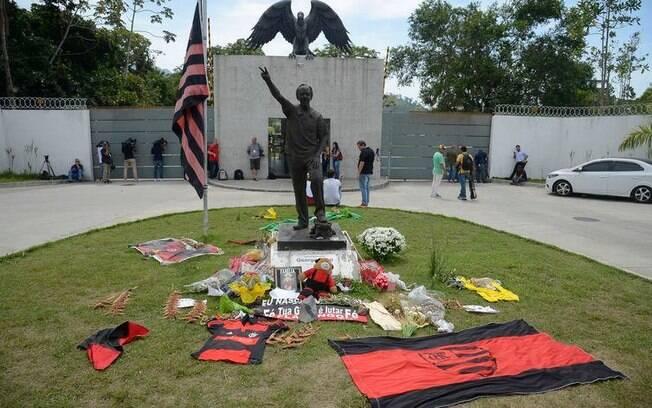 Ninho do Urubu foi palco da tragédia que matou 10 jovens do Flamengo