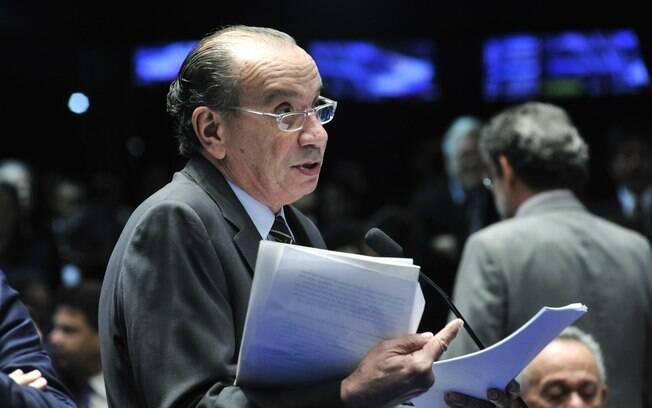 Aloysio Nunes foi escolhido pelo presidente para ocupar a vaga no Itamaraty na última quinta-feira