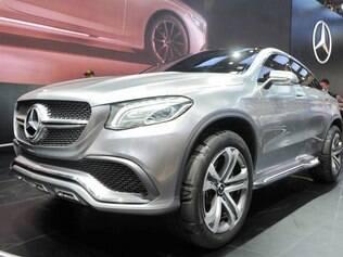 Mercedes-Benz Concept Coupé SUV está no Salão de Pequim