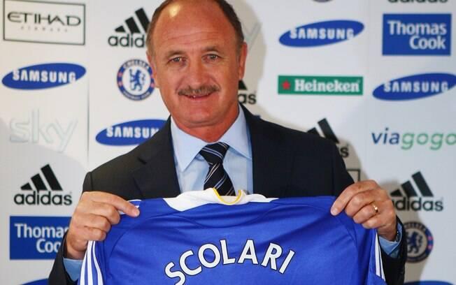 Ainda em 2008, Luis Felipe Scolari assumiu  como técnico do Chelsea