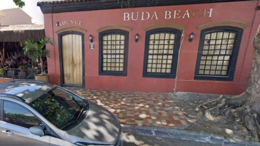 Boate Buda Lounge. Local que teria ocorrido o estupro