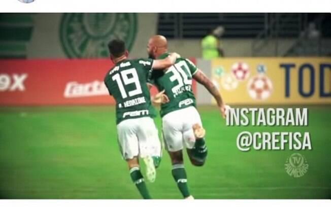 Perfil de presidente do Corinthians posta vídeo de Felipe Melo
