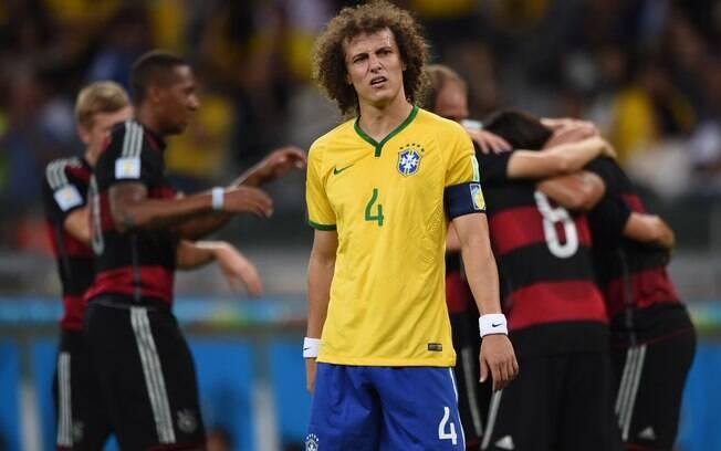 David Luiz, o rosto do 7 a 1