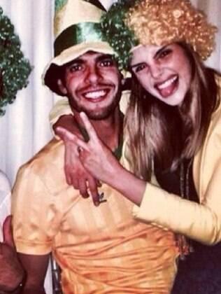 Kaká e Carol Celico juntinhos nessa terça (17)