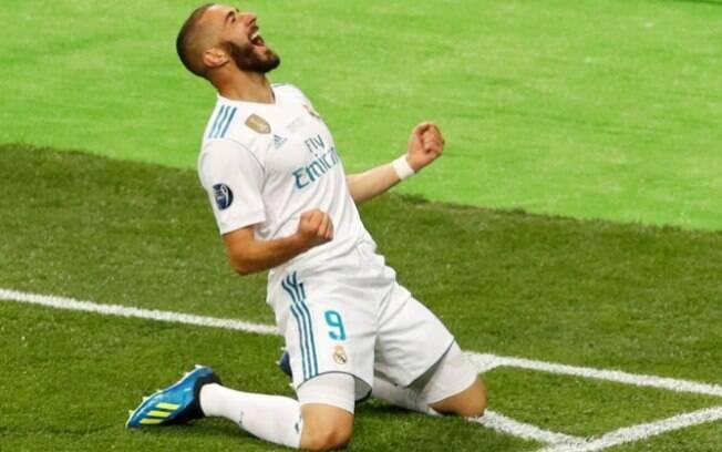 Karim Benzema é agora o sétimo maior goleador da história do Real Madrid