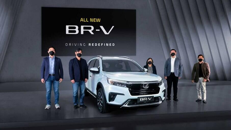 Honda BR-V 2022 é o novo SUV da marca japonesa para mercados emergentes, capaz de levar até sete ocupantes