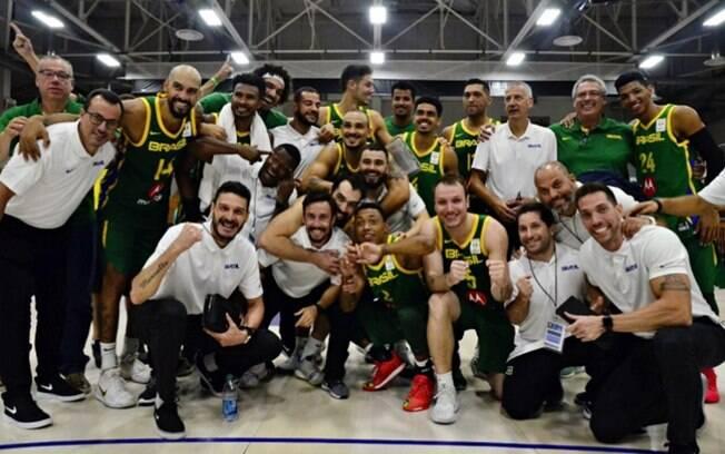Seleção masculina de basquete se classificou para o Mundial de 2019 que será disputado na China entre agosto e setembro