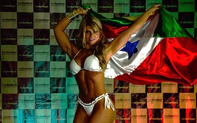 Vencedora do Miss Bumbum, Carine Felizardo disse que ganhou a fantasia da União da ilha