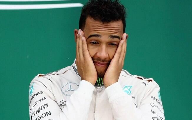 Lewis Hamilton reclamou do assalto à van da Mercedes, sua equipe na Fórmula 1