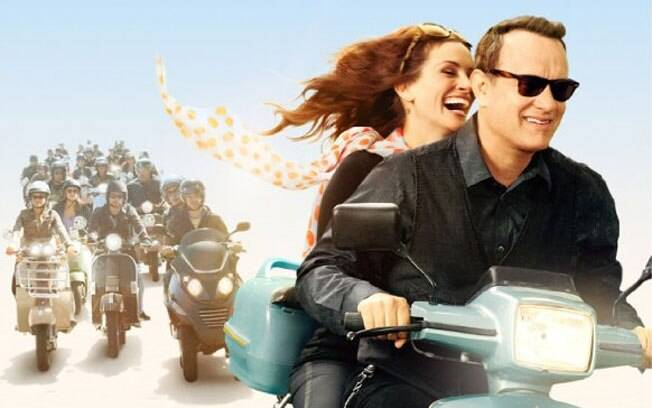 Julia Roberts e Tom Hanks no poster de