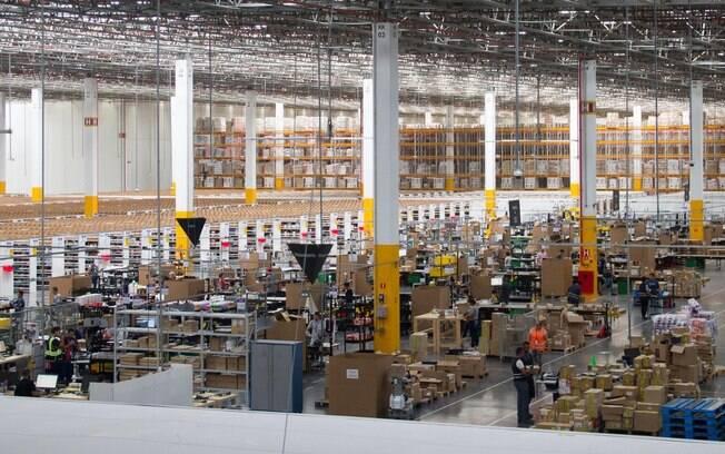 Novo centro de distribuição da Amazon no Brasil fica em Cajamar (SP)