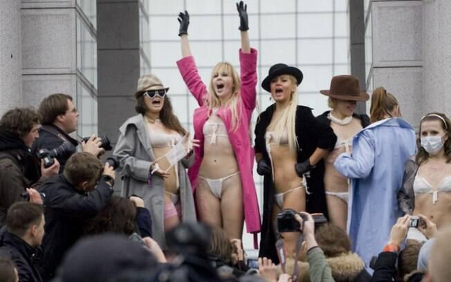 O feminismo liberal, de grupos como o Femen, é individualista e, por isso, é bastante criticado