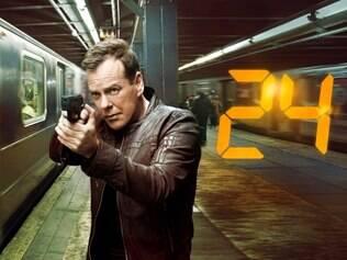 Kiefer Sutherland, no papel do agente Jack Bauer, é o único a aparecer em todas temporadas desde 2001