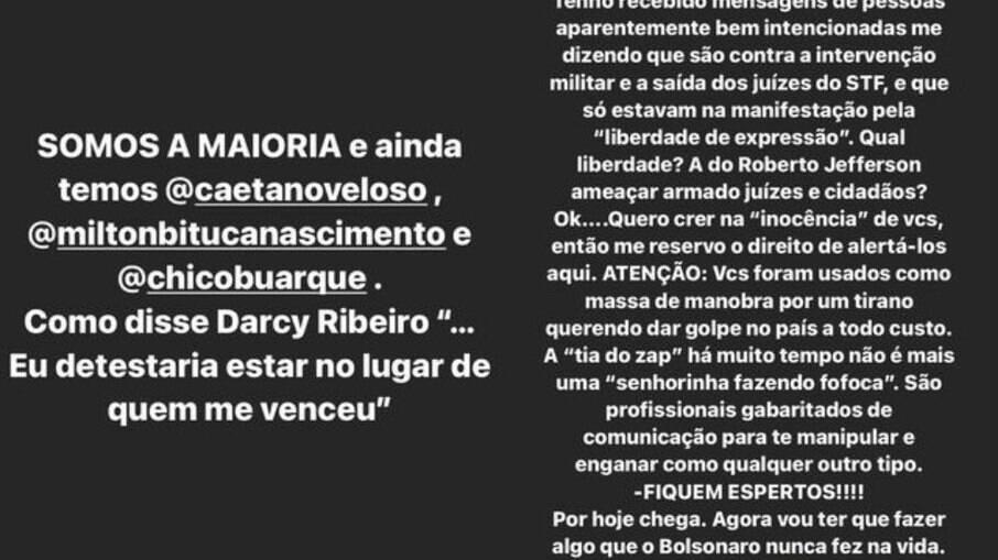 Stories de Alexandre Nero