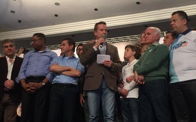 Russomanno foi anunciado como candidato à Prefeitura de São Paulo do PRB neste domingo, mas ainda não tem vice