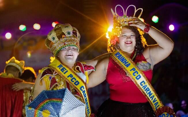 Recife elege primeiros Rei e Rainha com deficiência do Carnaval