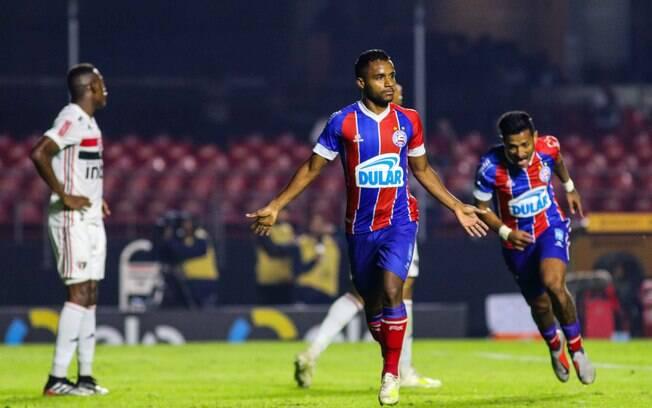 Bahia venceu por 1 a 0 o primeiro jogo das oitavas de final da Copa do Brasil