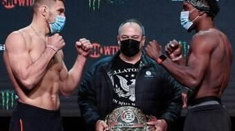 Vadim Nemkov defende cinturão contra Phil Davis nesta sexta-feira