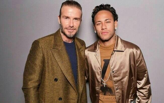 David Beckham quer ter Neymar em seu time nos Estados Unidos a partir de 2020