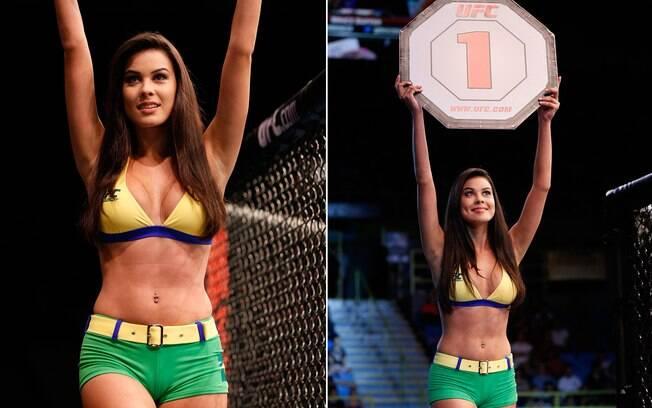 Camila Oliveira foi escolhida dois dias antes do UFC São Paulo