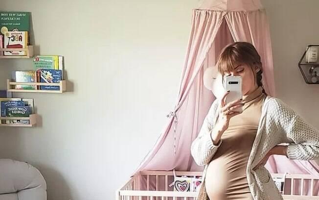 Bethany McMillin, 27, soube da sua rara condição em 2018, durante o ultrassom da sua primeira gestação