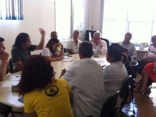 Em encontro com os manifestantes, Regional marcou nova reunião para a próxima quinta-feira (9)