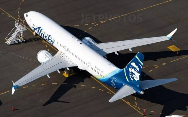 Alaska Airlines recebe seu primeiro Boeing 737 MAX