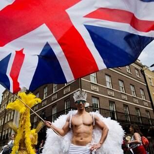 Com imigrantes de todas as partes do mundo, Londres é uma das cidades que mais aceita a diversidade sexual no mundo