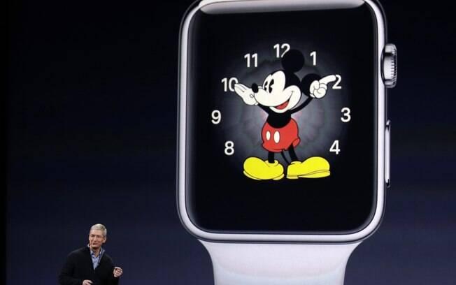 Tim Cook apresenta versões do Apple Watch em evento realizado em São Francisco, na Califórnia,, nos Estados Unidos