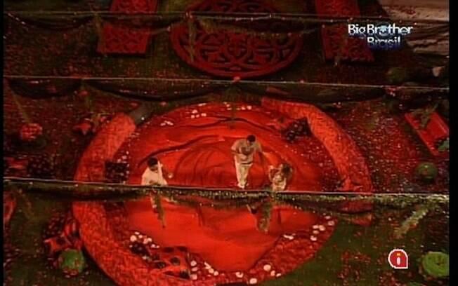 Visão panorâmica da Festa Rosas