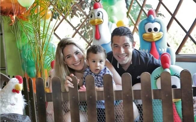 Marcus Buaiz, Wanessa e o primeiro filho do casal, José Marcus