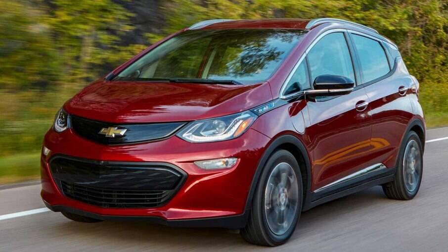 Chevrolet Bolt é atualmente o único elétrico da GM no mercado brasileiro