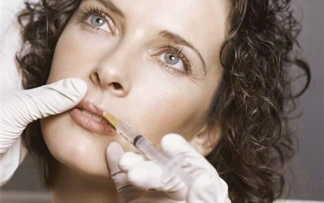 Preenchimento e botox pode ser usado em mulheres jovens